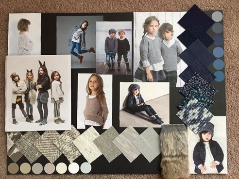 childrenswear mood board