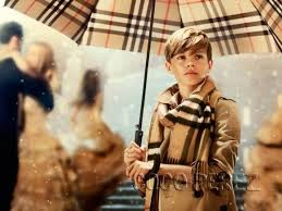 master romeo beckham for burberry