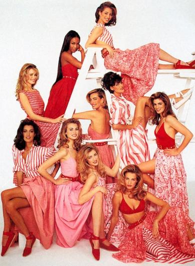 supermodels red
