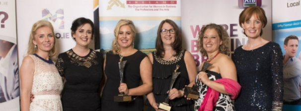 women in business awards - Louise MCClean - third in from left
