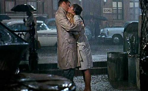 audrey and george peppard breakfast at tiffanys