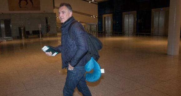 billy walsh at dublin airport