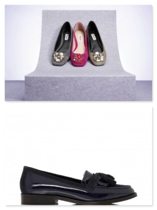 dune ballet flats and loafers