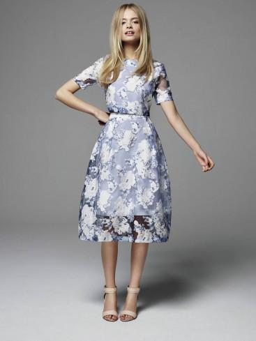 Miss Selfridge matching top and midi skirt