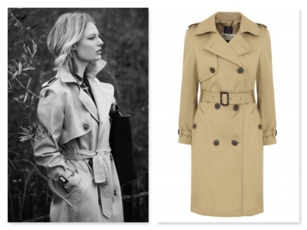 M&S trench coat
