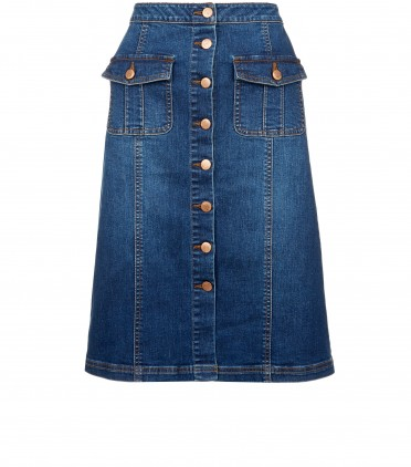 new look midi denim skirt €22.99