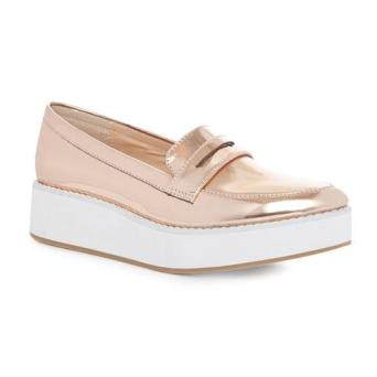 penneys gold reflective loafers €15