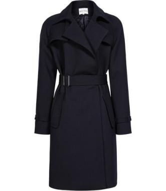 reiss navy trench coat from arnotts €335