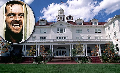 Estes Park, Colorado, USA --- The Stanley Hotel in Estes Park --- Image by Wolfgang Kaehler/CORBIS