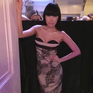 yomiko chen divine boutique back stage