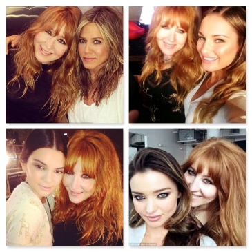 charlotte tilbury with celeb pals