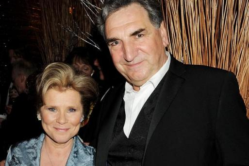 jim carter and wife imelda staunton 1998 www.thetimes.co.uk