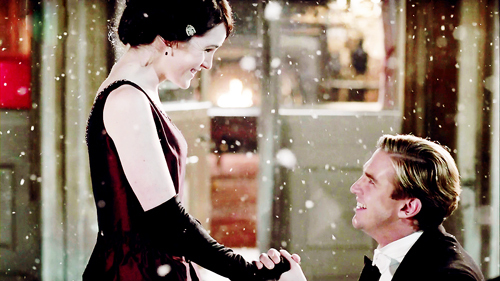 lady mary and matthew crawley