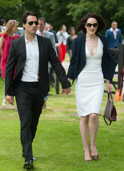 michelle dockery and fiance John dineen