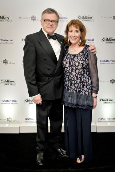 The Downton Abbey ChildLine Ball 2013 held at The Savoy, London