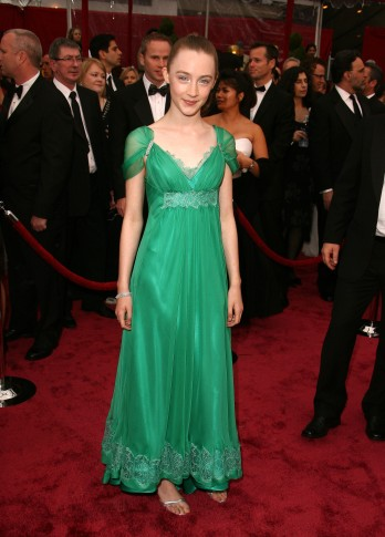 HOLLYWOOD - FEBRUARY 24: Actress Saoirse Ronan attends the 80th Annual Academy Awards at the Kodak Theatre on February 24, 2008 in Los Angeles, California. (Photo by Steve Granitz/WireImage) *** Local Caption ***