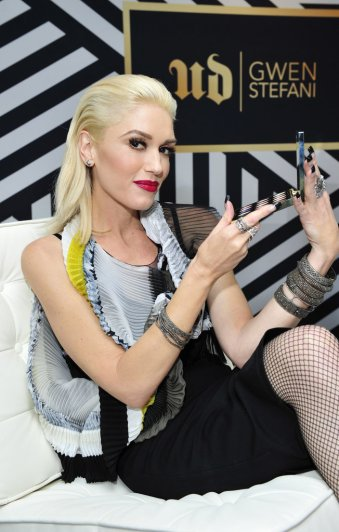 gwen stefani for urban decay - popsugar.com