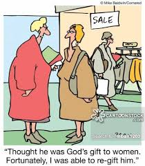 unwanted gifts cartoon