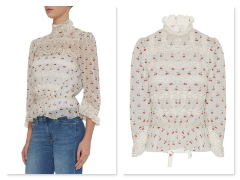 brown thomas marc jacobs victorian blouse €425