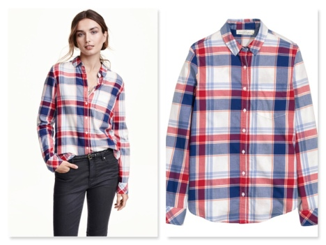 h&m gingham shirt €19.99