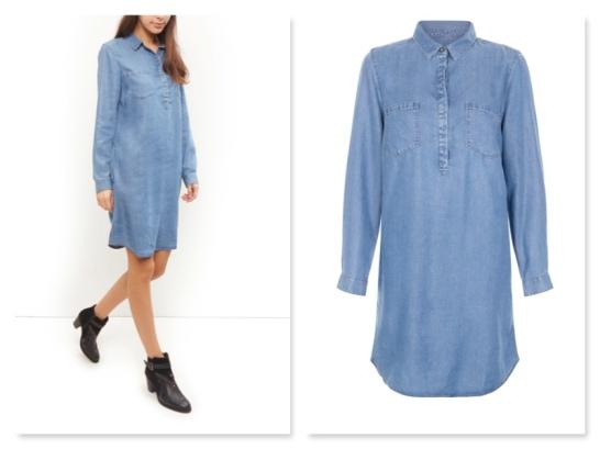 new look denim dress €29.99